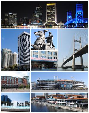 Jacksonville FL montage