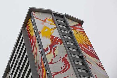 STEPS Mural
