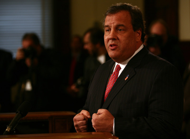 Chris Christie press conference