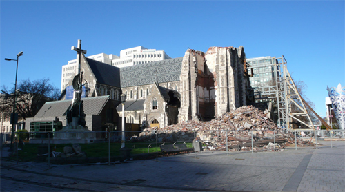 Cathedral damage