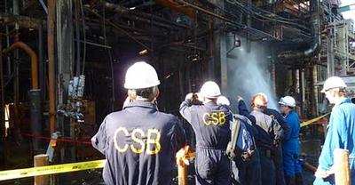 CSB investigators