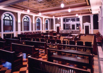 interior courthouse