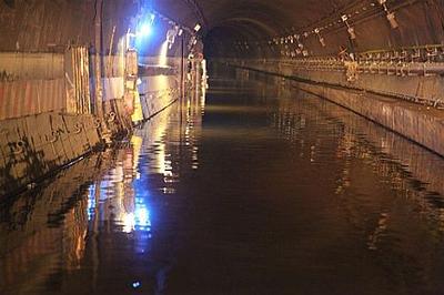 NY subway flooding