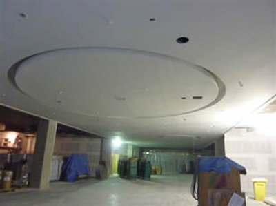 Drywall ceiling
