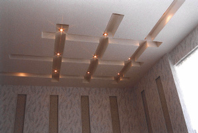 Decorative drywall ceiling