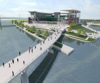 McLaneStadium-PedestrianBridge
