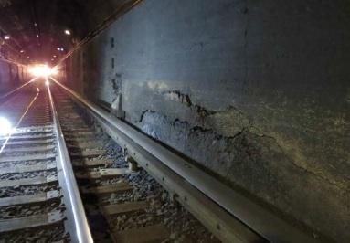 Amtrak tunnel damage