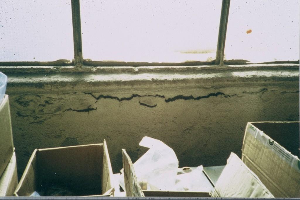 Asbestos coating