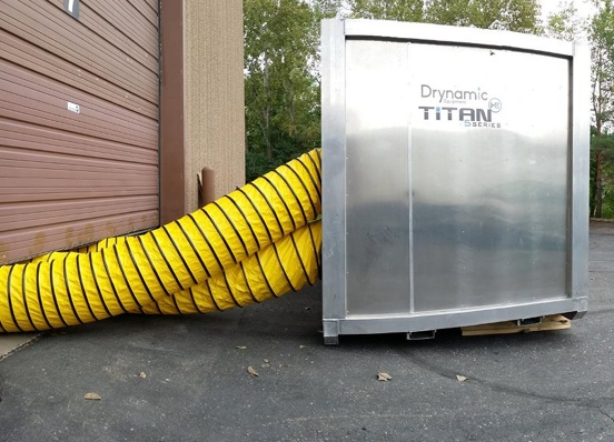 Titan Series dehumidifiers