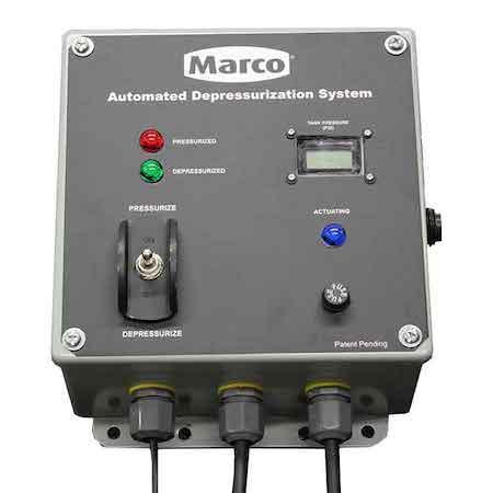 Marco depressurization system