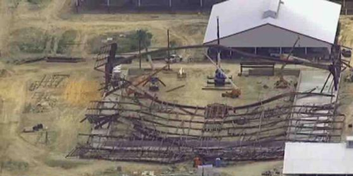 Texas A&M Equine Center collapse