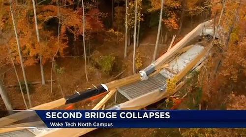 Wake Tech bridge collapse