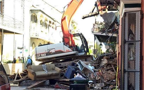 WVUE demolition