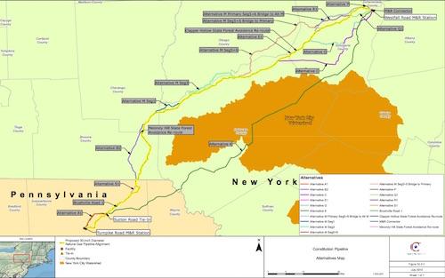 pipeline construction emminent domain