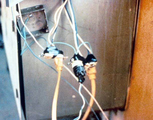 Temporary wiring