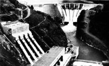Mayfield dam