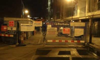 Blocked sewer main