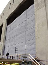 Metalized Dam Gates