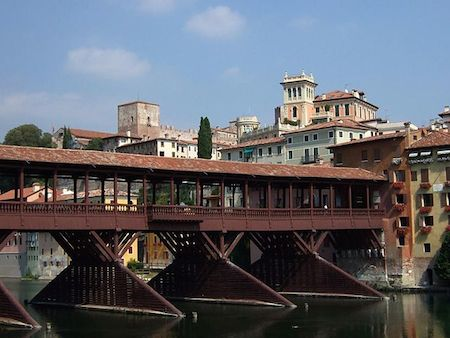 Alpini bridge Italy