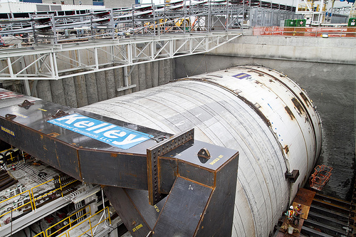Bertha tunneling machine