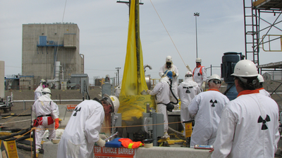 Hanford Pump Removal