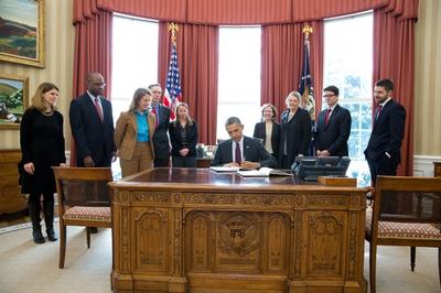 2015 Obama budget signing