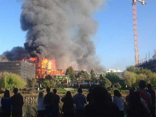 San Francisco fire