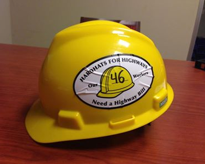 Hardhat and decal