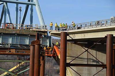 Bearing Replacement - MM Bridge