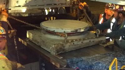 Milton-Madison bearing replacement