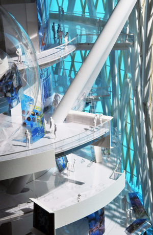Infinity Tower Interior