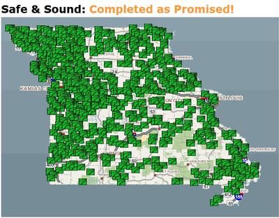 MO Safe & Sound map
