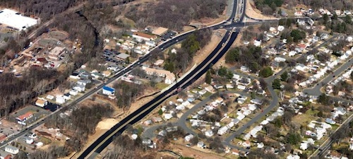 Route 72 relocation project