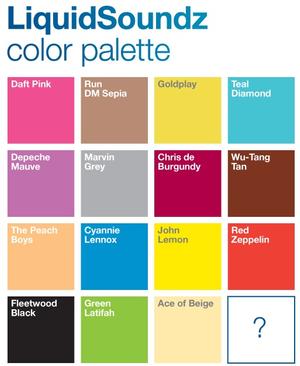 LiquidSoundz palette