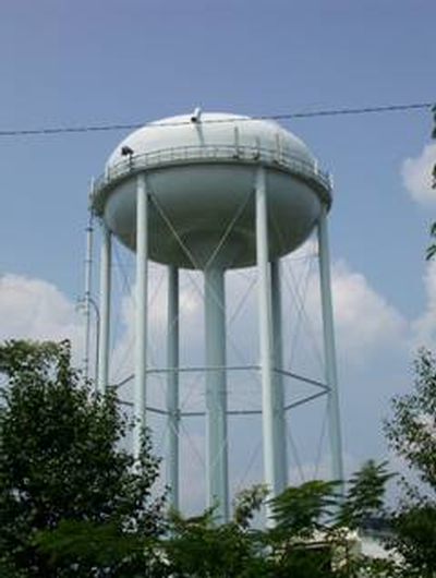 Campbell County water tower