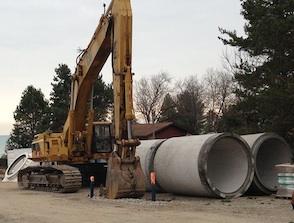Lake Huron pipeline project