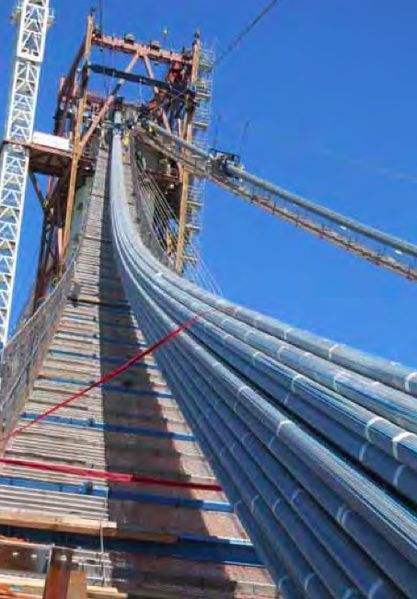 Bay Bridge self-anchored suspension span