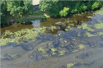 Marshall MI oil spill