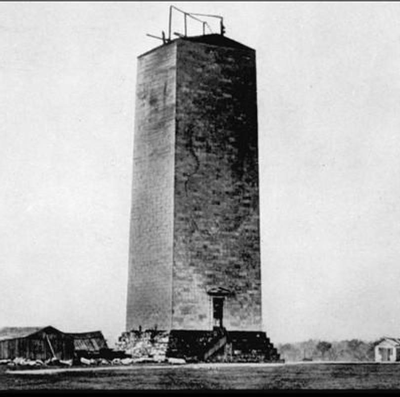 Washington Monument historic photo