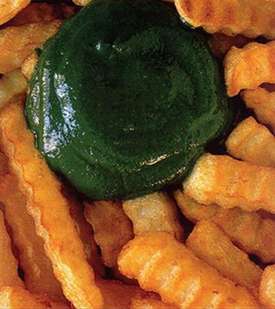 Green ketchup