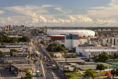 Arena da Amazonia in Manaus