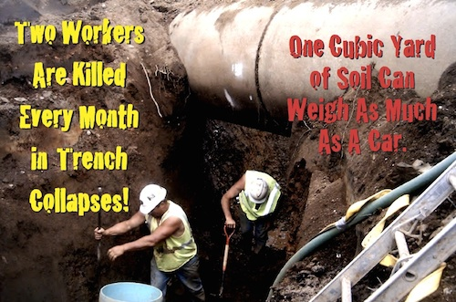 trenching and excavation hazards