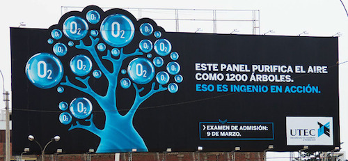 UTEC billboard