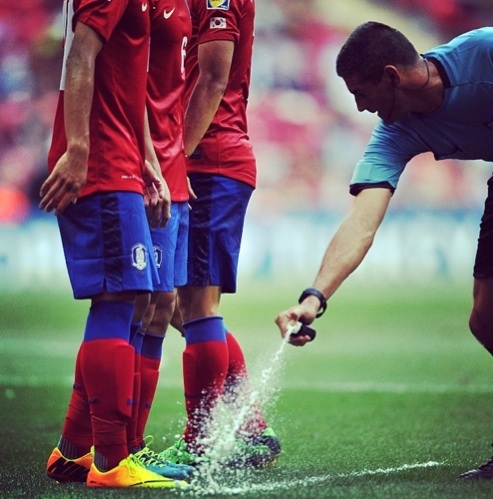 vanishing spray paint