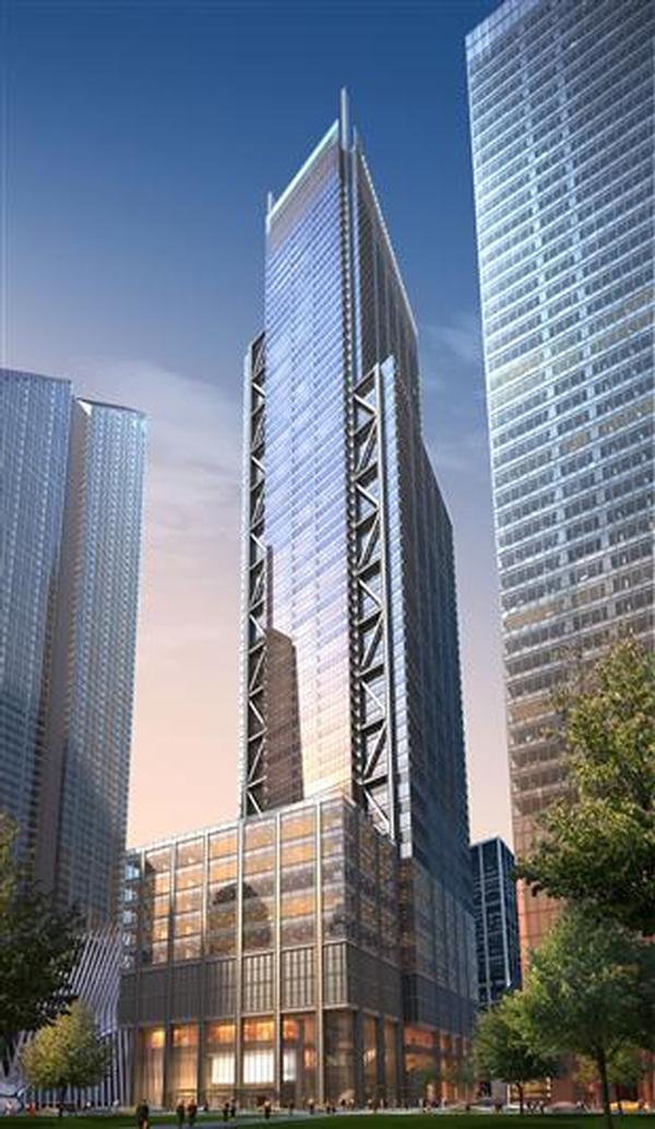 Rendering of 3 World Trade Center