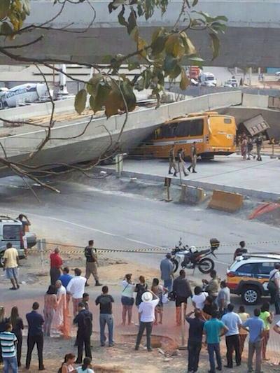 Brazil overpass collapse