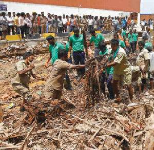 Chennai collapse