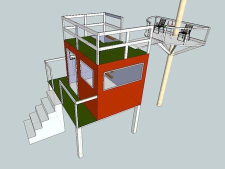 Eco Brooklyn treehouse