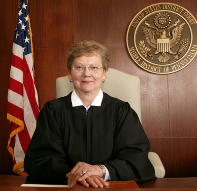 US District Judge Sylvia H. Rambo