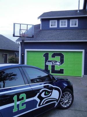 Seahawks house